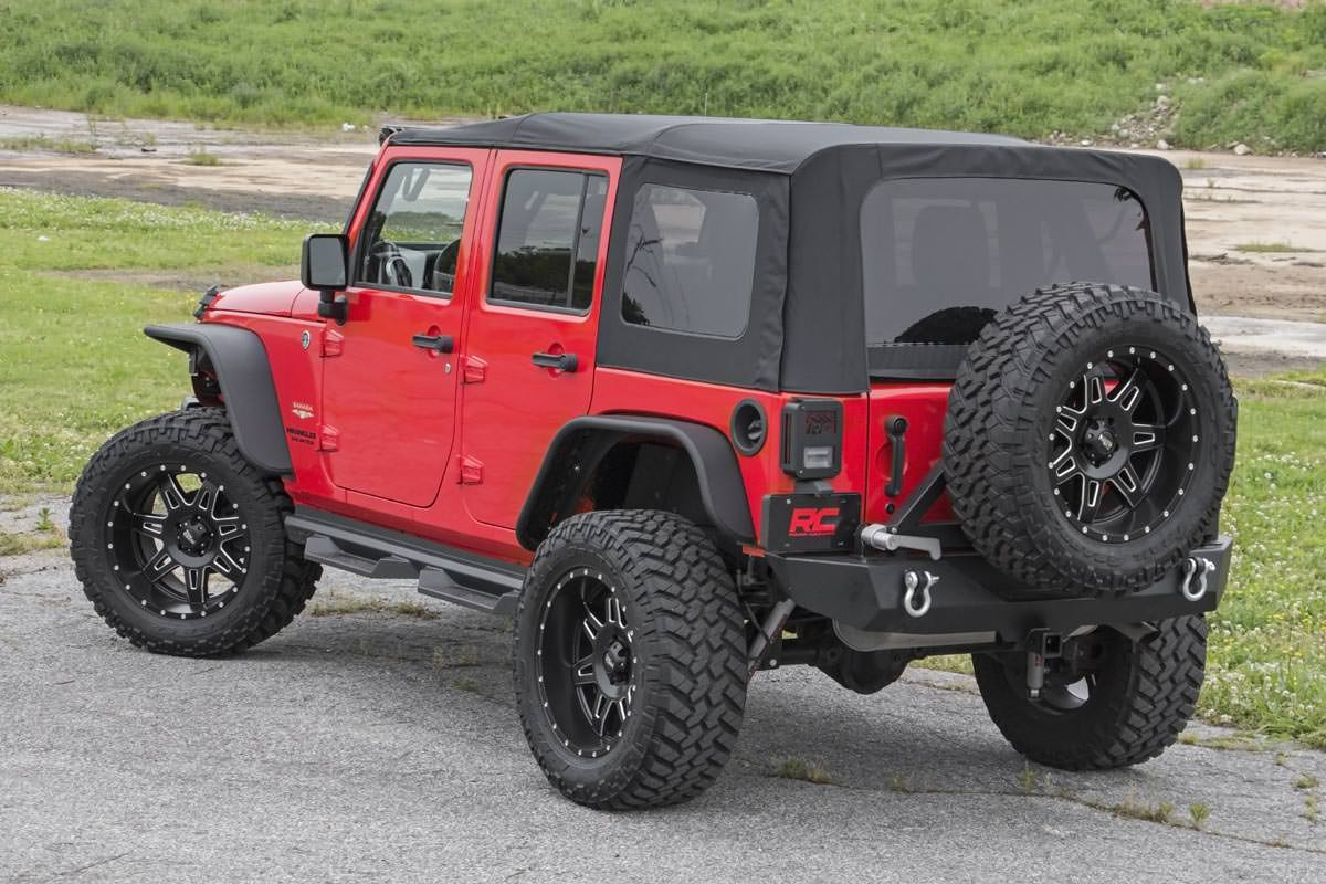 Jeep Wrangler Soft Top >> Jeep Wrangler Jk Replacement Soft Top 07 09 4 Door