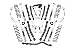 4IN JEEP X-SERIES SUSPENSION LIFT KIT (07-18 WRANGLER JK UNLIMITED) PERFORMANCE 2.2