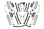 4IN JEEP X-SERIES SUSPENSION LIFT KIT (07-18 WRANGLER JK UNLIMITED) VERTEX RESERVOIR