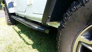Jeep Wrangler JK Sliders