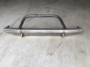 XJ Slayer Front Bumper With Hoop
